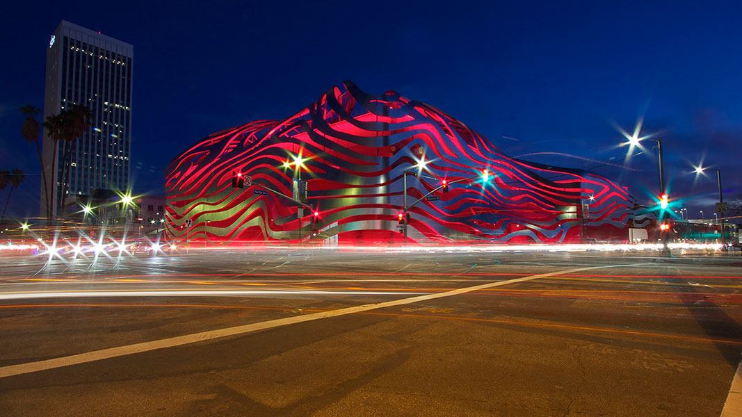 REVIEW: Peterson Automotive Museum on Wilshire blvd.  – photographed by Richard Dewhirst