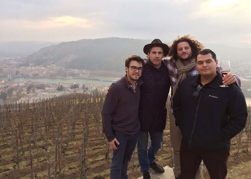 LOLA VINEYARDS: Seth Cripe with Chapoutier, Mondavi, and Sur Lucero in Rhone Valley, France – Part 2