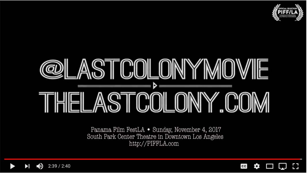"""PanaFest-LA director Carlos Carrasco invites you to watch the trailer, """"The Last Colony,"""" by 4x Emmy Award director Juan Agustín Márquez – A close look at Puerto Rico's unique relationship with the U.S. + benefit screening 11.4.17"""