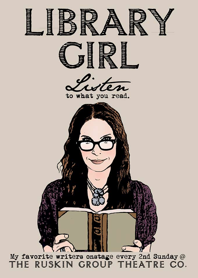 Poet, playwright and Ruskin Group Theatre's Library Girl SUSAN HAYDEN with introduction by Linda J. Albertano