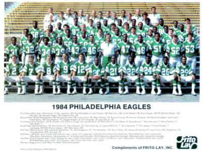 The Philadelphia Eagles 1984